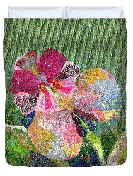 Dancing Orchid IIi Duvet Cover