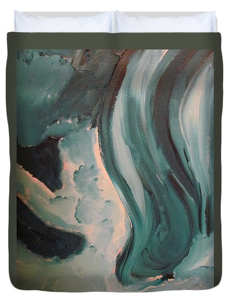Dancing Duvet Cover by Shea Holliman