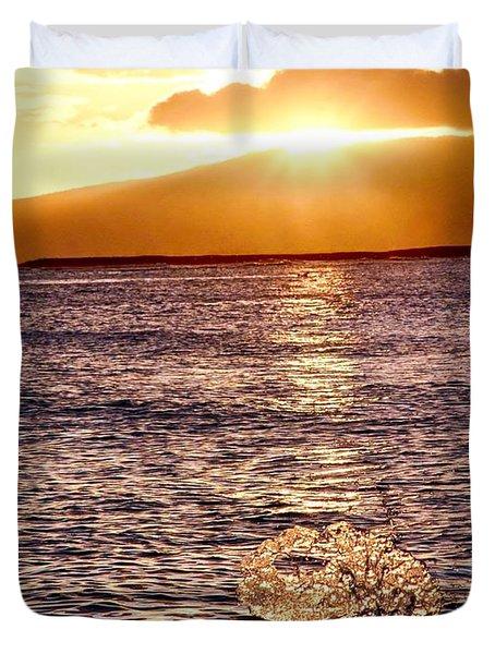 Dancing Water Duvet Cover