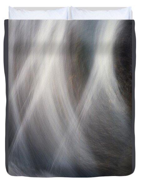 Dancing Water Duvet Cover by Kathy Bassett
