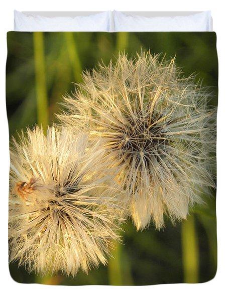 Dandelion Blooms Duvet Cover