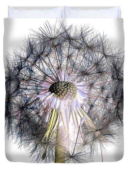 Dandelion Clock No.1 Duvet Cover