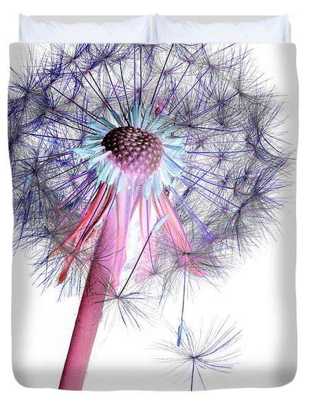 Dandelion Clock No.2 Duvet Cover