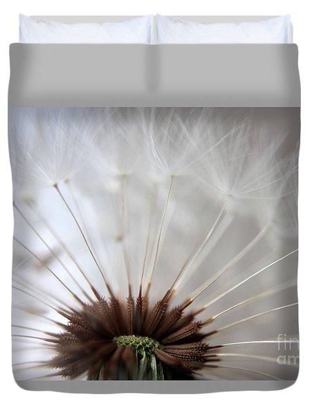 Dandelion Cross Section Duvet Cover