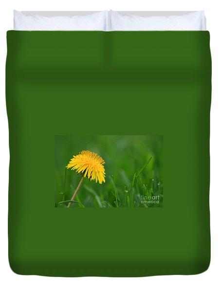 Dandelion Flower Duvet Cover