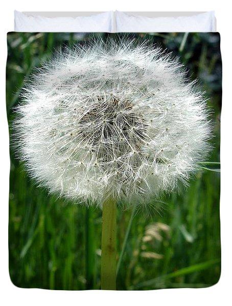 Dandelion Fluff Duvet Cover
