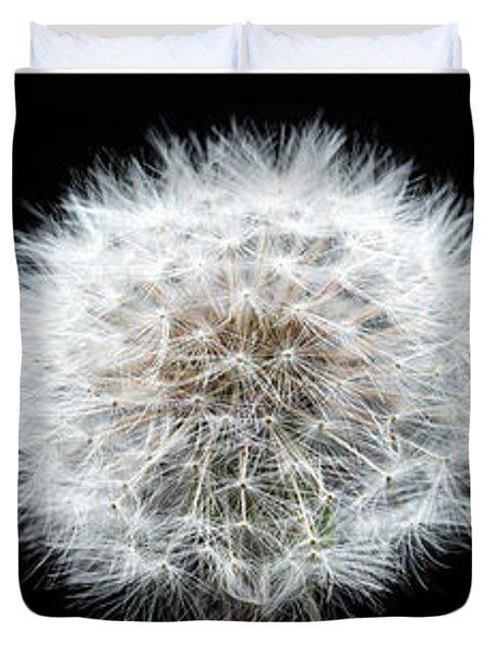 Dandelion Life Cycle Duvet Cover by Steve Gadomski