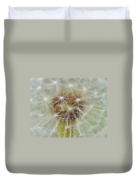 Dandelion Matrix Duvet Cover