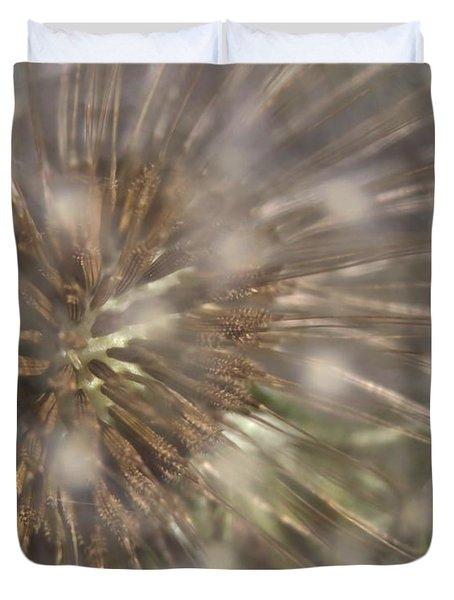 Dandillion Seed Head Duvet Cover