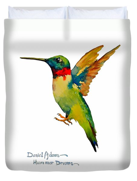 Da166 Hummer Dreams Daniel Adams Duvet Cover