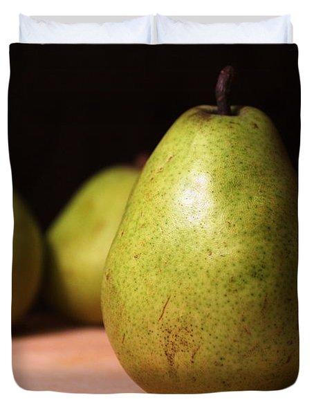 D'anjou Pears Duvet Cover