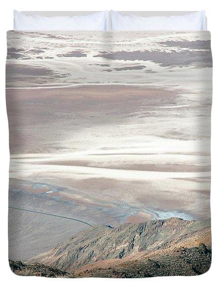 Duvet Cover featuring the photograph Dante's View #1 by Stuart Litoff