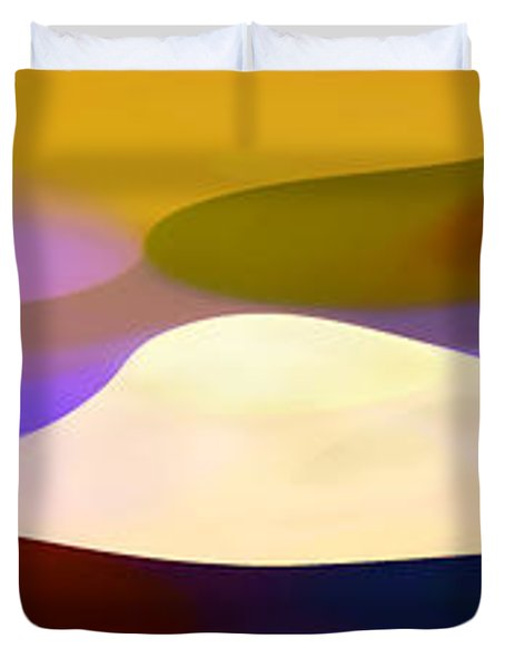 Dappled Light Panoramic 4 Duvet Cover by Amy Vangsgard