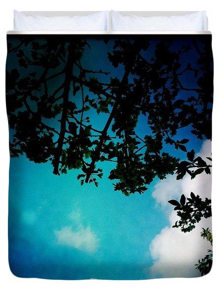 Dappled Sky Duvet Cover