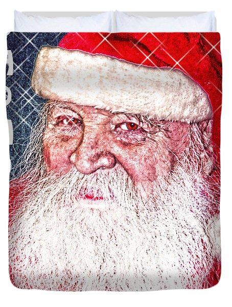 Darius Merry Christmas Duvet Cover