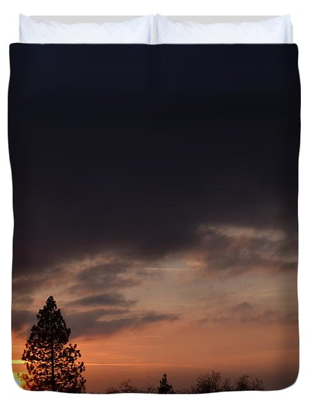 Dark Clouds Duvet Cover