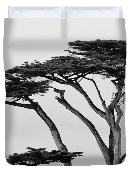 Dark Cypress Duvet Cover