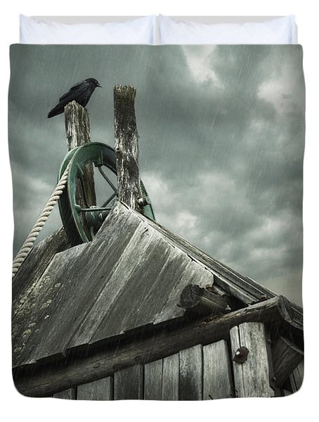 Dark Days Duvet Cover by Amy Weiss
