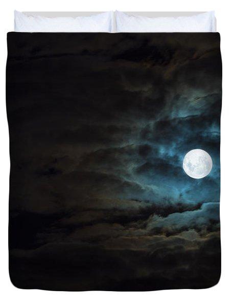 Dark Rising Duvet Cover by Andrew Paranavitana
