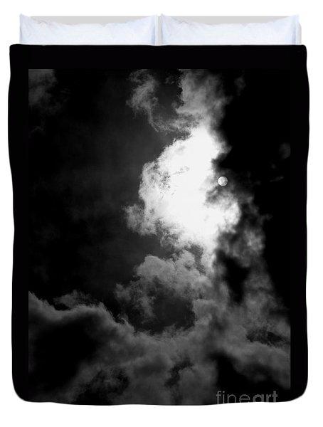 Dark Side Of The Sun Duvet Cover by Vicki Spindler