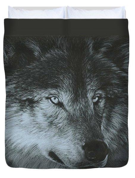 Dark Wolf Duvet Cover