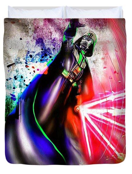 Darth Vader  Duvet Cover by Daniel Janda