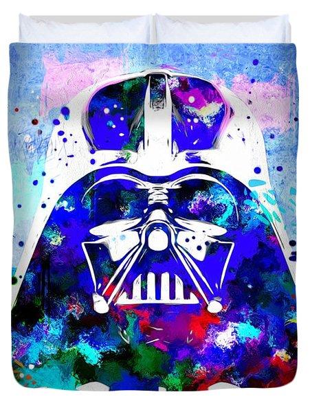 Darth Vader Star Wars Duvet Cover by Daniel Janda