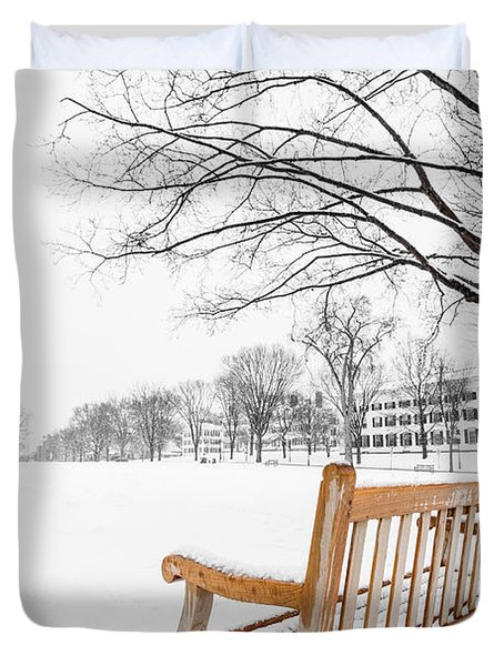 Dartmouth Winter Wonderland Duvet Cover
