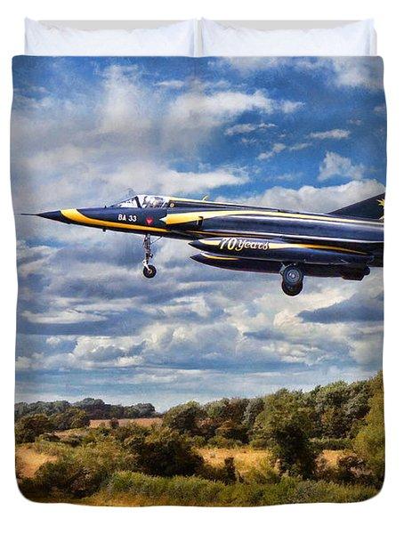 Dassault Mirage 5 Duvet Cover