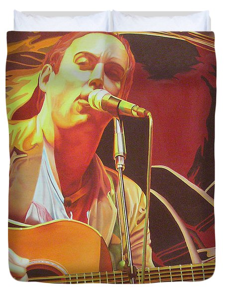 Dave Matthews At Vegoose Duvet Cover