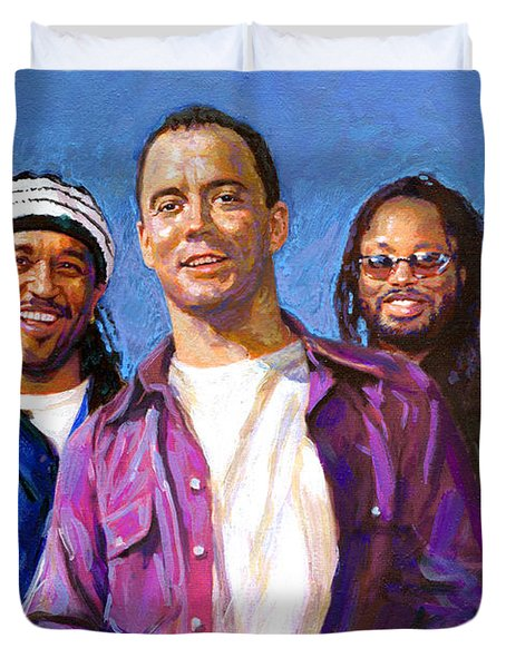 Duvet Cover featuring the drawing Dave Matthews Band by Viola El