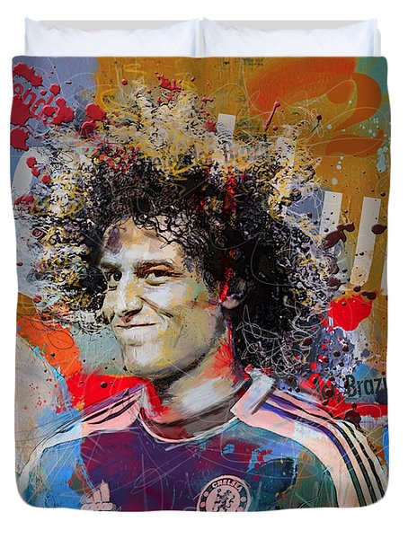 David Luiz Duvet Cover