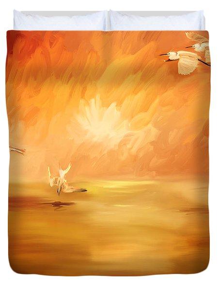 Dawn Duvet Cover by Angela A Stanton