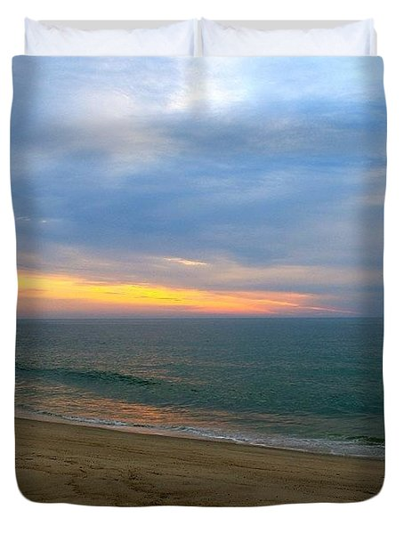 Dawn At Nauset Duvet Cover