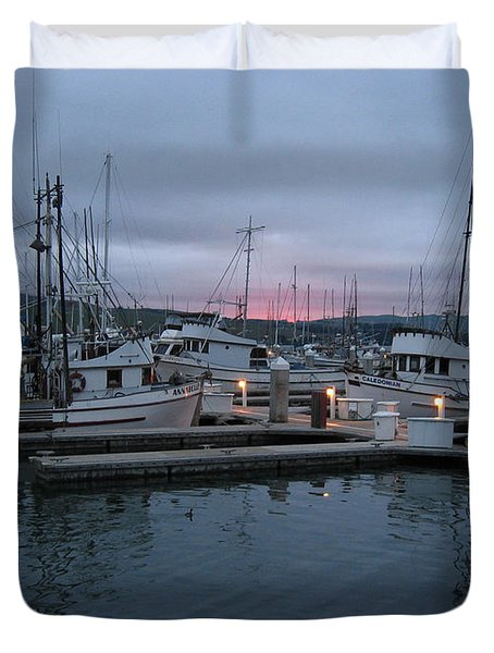 Dawn Duvet Cover by Dianne Levy