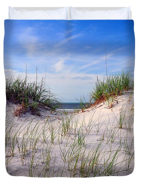 Dawn Dunes Duvet Cover