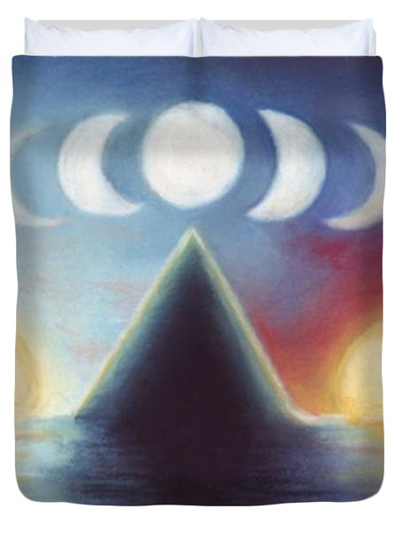 Dawn Dusk And In-between Duvet Cover by Samantha Geernaert