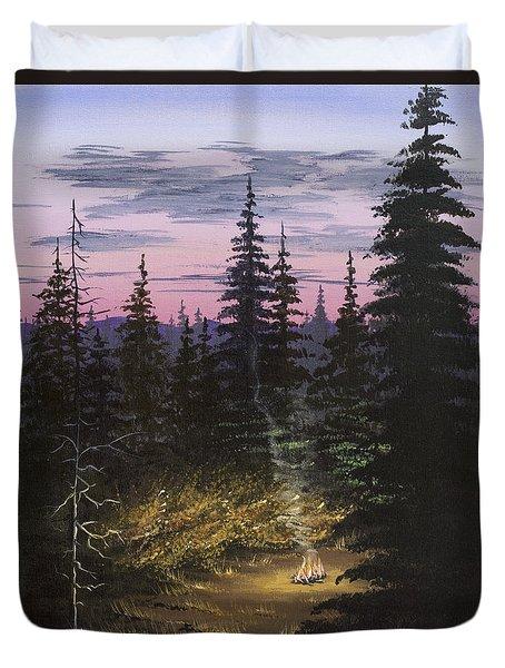 Dawn Fire Duvet Cover