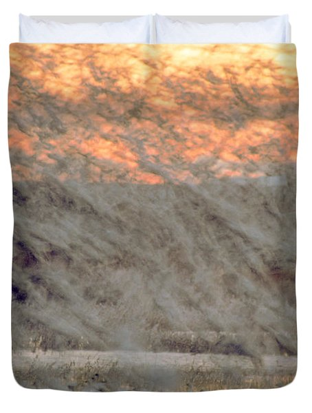 Dawn Liftoff Duvet Cover by Steven Ralser