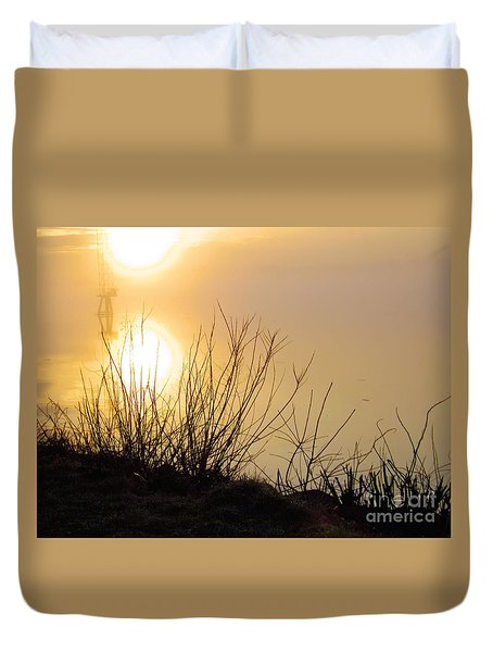 Duvet Cover featuring the photograph Dawn Of A New Day by Robyn King