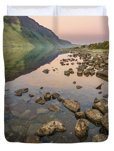 Dawn Of Evening Duvet Cover