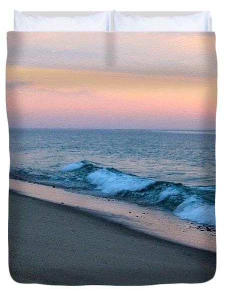 Dawn Waves Duvet Cover