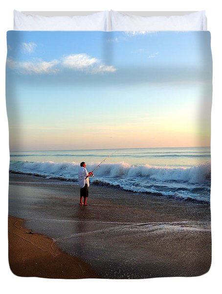 Dawning Of A New Day Duvet Cover