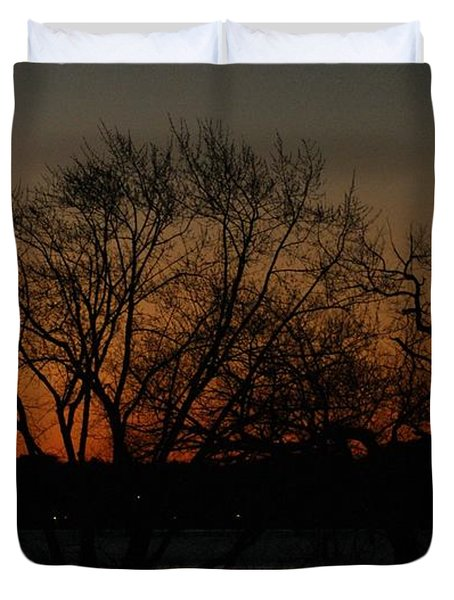 Dawns Early Light Duvet Cover by Joe Faherty