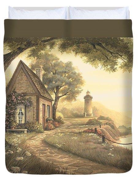 Dawn's Early Light Duvet Cover