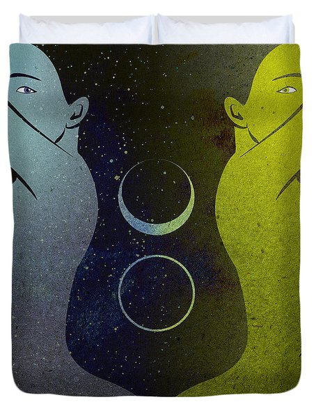 Day And Night Duvet Cover