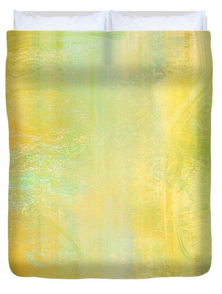 Day Bliss - Abstract Art Duvet Cover