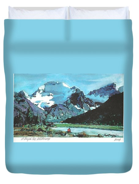 Day In The Wilderness Duvet Cover by Joseph Barani