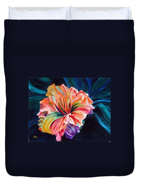 Day Lily Duvet Cover