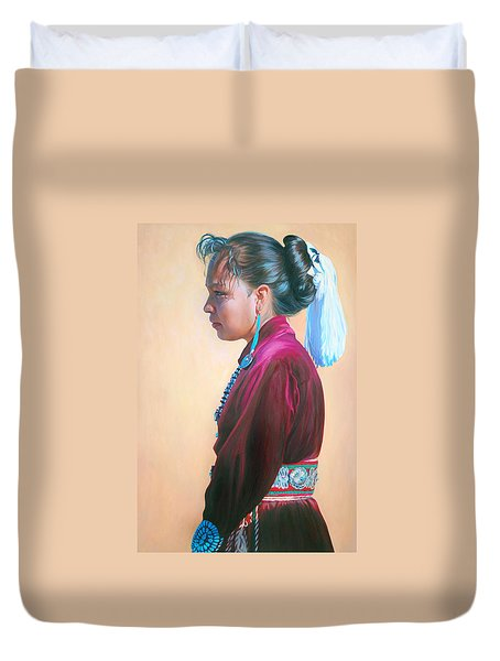 Day Of Honor Duvet Cover